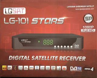 Sw Terbaru LGsat LG-101HD Stars Garmedia