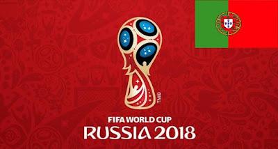 Senarai Penuh Pemain Portugal Piala Dunia 2018