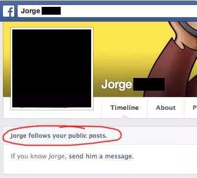 how to check who follows you on facebook