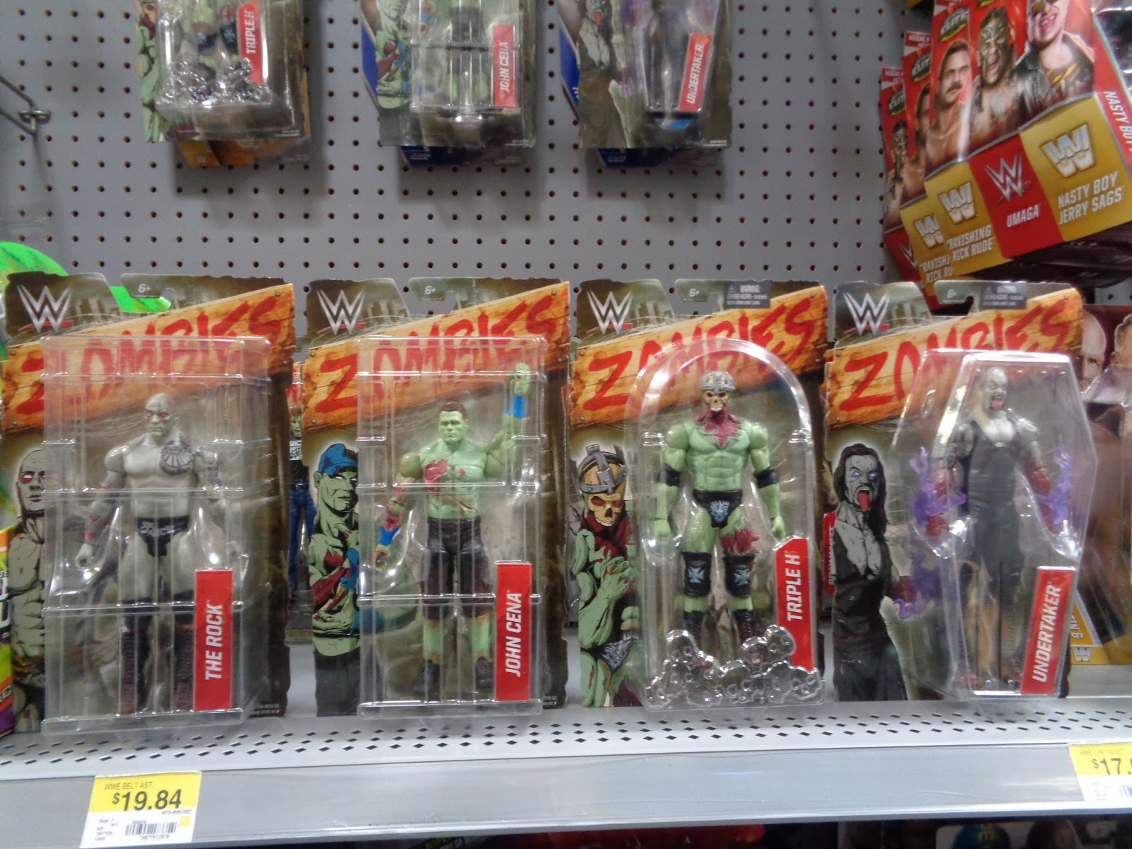 J And J Toys Wwe Zombie Figures At Walmart