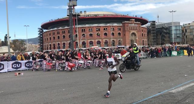 Anthony Maritim y Rutch Chebitok logran la victoria en la Zurich Marató de Barcelona 2018