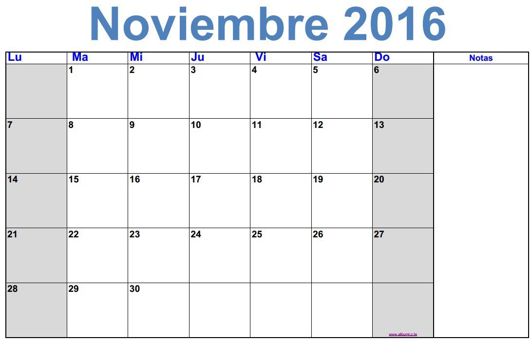 Calendario En Blanco.2016 Blank Calendar Calendar En Www Albumi C La Calendario