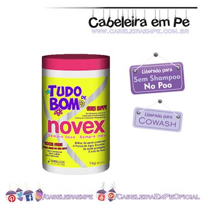 Composição do Creme Multifuncional Novex Tudo de Bom - Embelleze