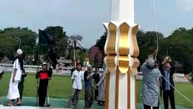 Polisi: Tak Ada Penurunan Merah Putih saat Bendera HTI Dikibarkan di Poso