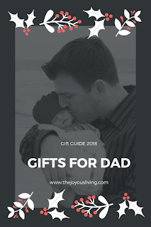 Need a gift for dad? Check out THE JOYOUS LIVING's gift guide.