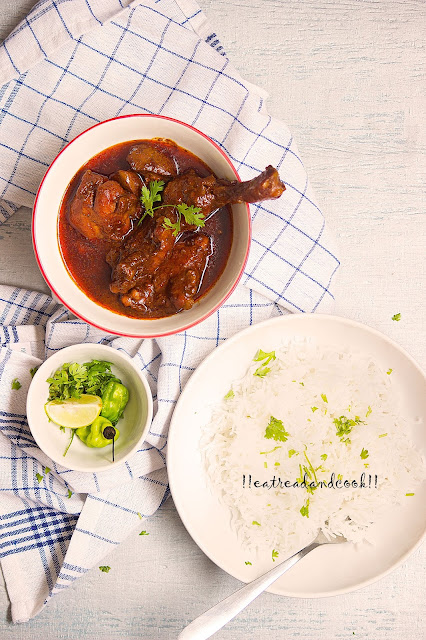 how to make Chittagong Chicken Curry recipe and preparation with step by step pictures