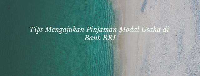 Tips Mengajukan Pinjaman Modal Usaha di Bank BRI