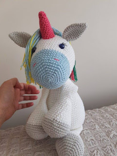 Unicornio Amigurumi - Patrón Escrito - YouTube | 320x240
