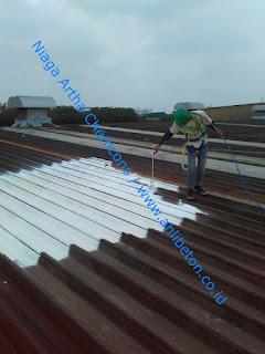 perbaikan karat atap besi