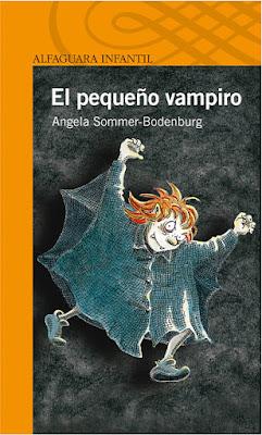 """Libros de Fantasía para niños: """"El pequeño vampiro"""" de Angela Sommer-Bodenburg"""