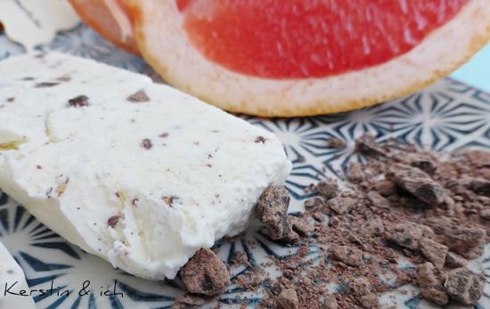 Vanille-Grapefruit-Eis selbstgemacht Rezept
