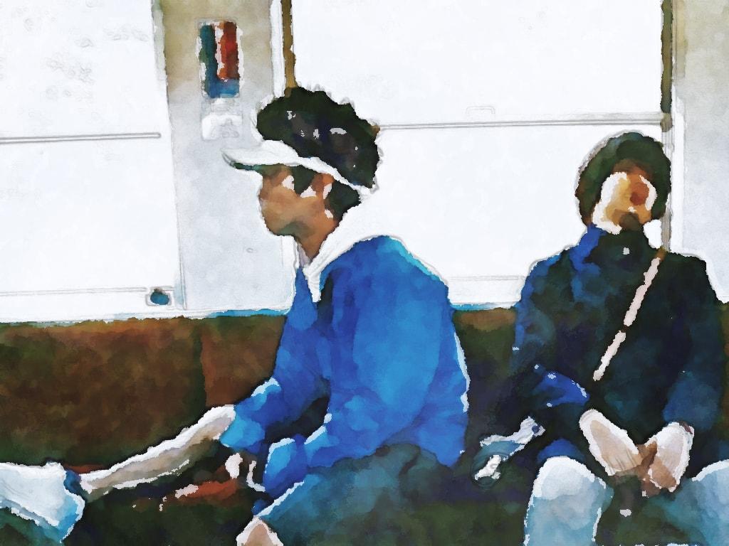 水彩画の19(ジューク)(アーティスト)