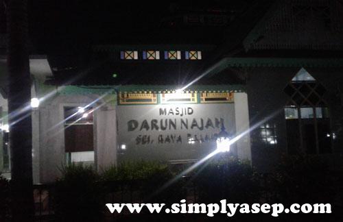 SERDAM : Masjid Darunnajah serdam ini beralamat di Jl. Sungai Raya Dalam, Sungai Raya, Pontianak Tenggara, Kota Pontianak, Kalimantan Barat 78117.  Foto Asep Haryono