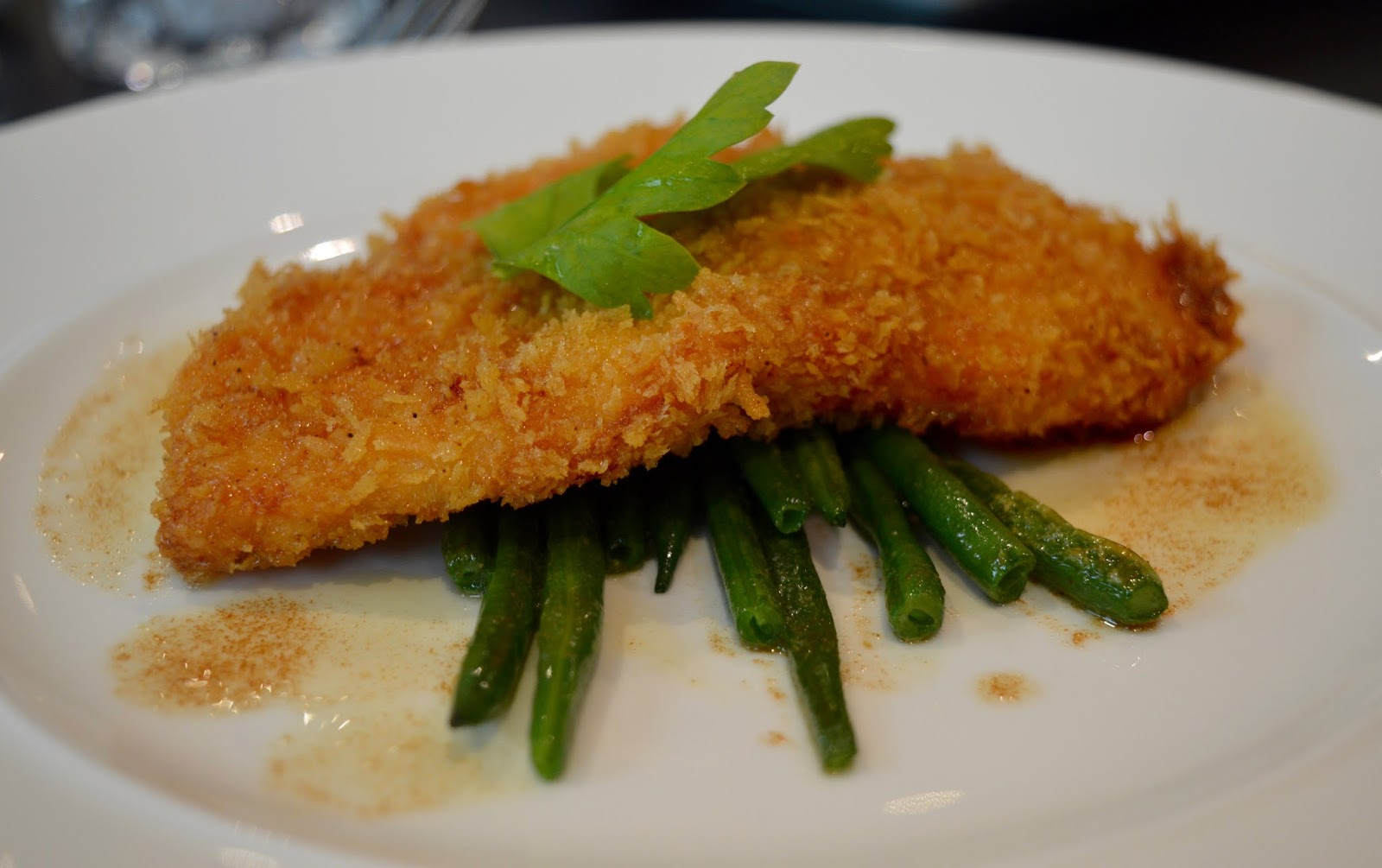 Enfields Kitchen - Gateshead College | Enjoy a delicious 3 course lunch for just £6 - chicken escalope