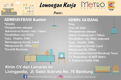 Lowongan Kerja Administrasi di Bandung Timur