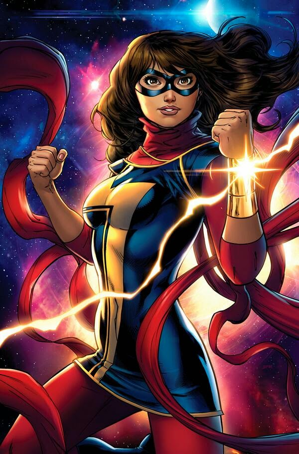 Ms.Marvel-Kamala Khan-comic books-comics-Marvel