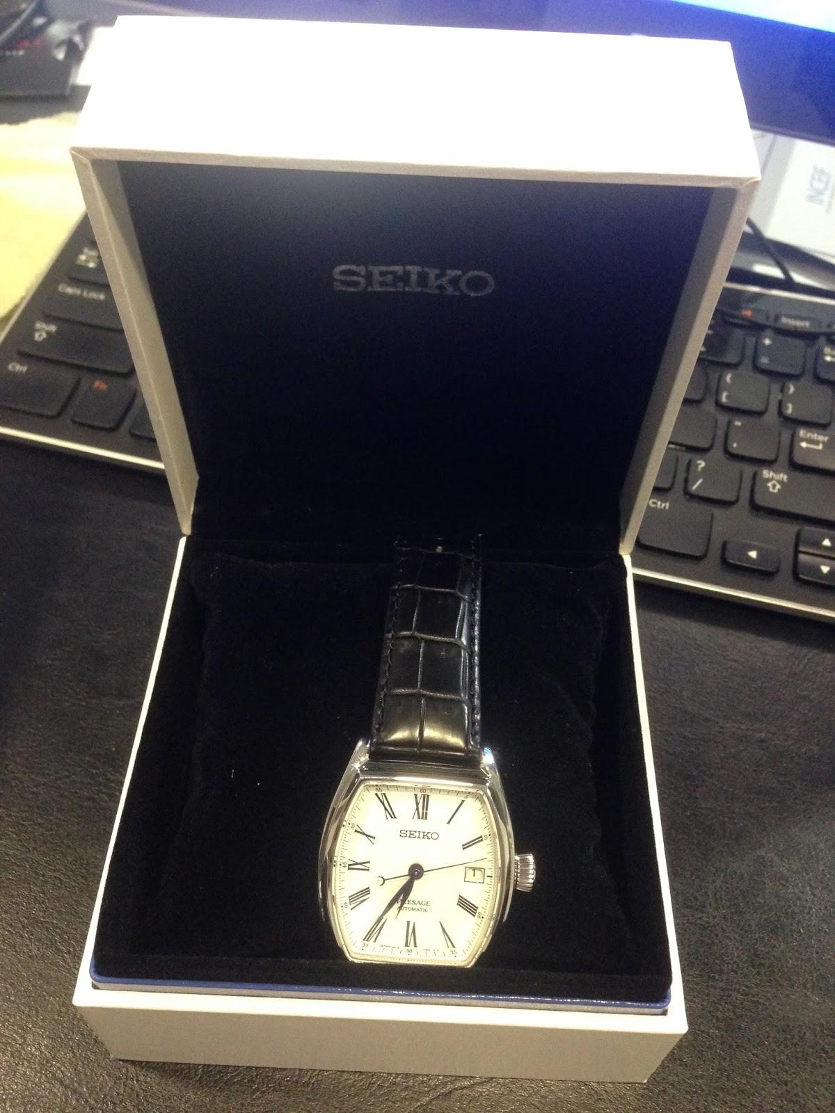 eastern  collection seiko presage enamel automatic spbj  part   srqj