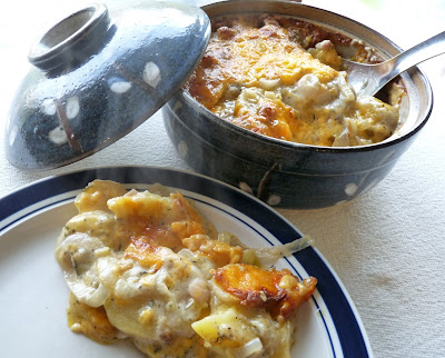 Potato, Onion & Cheese Casserole