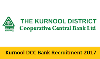 Kurnool DCC Bank Staff Assistant Syllabus 2017 | Clerks Exam Pattern @ www.kurnooldccb.com