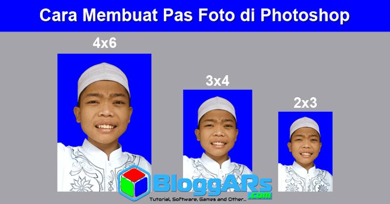 Cara Membuat Pas Foto di Photoshop Lengkap Dari Awal