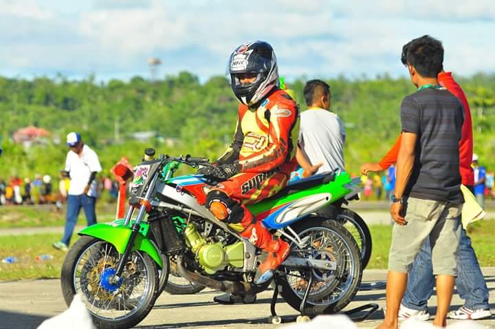 Pesona Motor Thailand di Road Race Tanah Papua