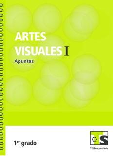 Artes Visuales I primer grado Telesecundaria Ciclo Escolar 2015-2016
