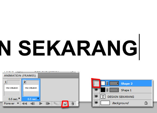 animasi photoshop, tutorial photoshop, belajar photoshop