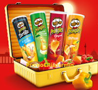Logo Con Pringles vinci viaggi a Berlino, Santorini, Ibiza, Roma o Barcellona