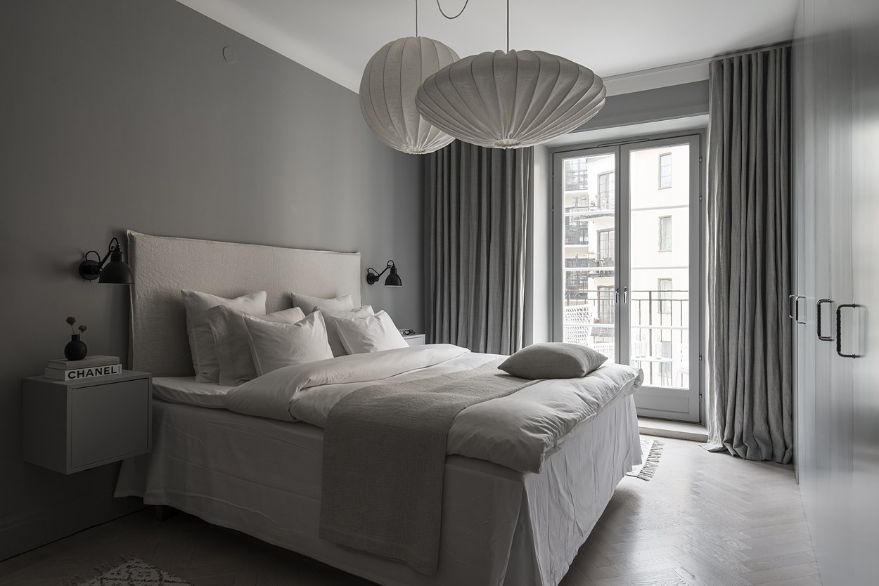 Genial This Apartment Manages To Keep An All Grey Tone Throughout Each Room And  Still Have Plenty Of Personality And Style. And Doesnu0027t The Bedroom Look  Incredibly ...