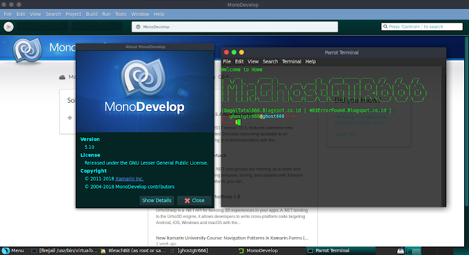 IDE MonoDevelop di GNU/Linux