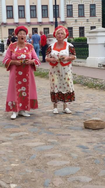 Russische Folklore Uglitscher Kreml