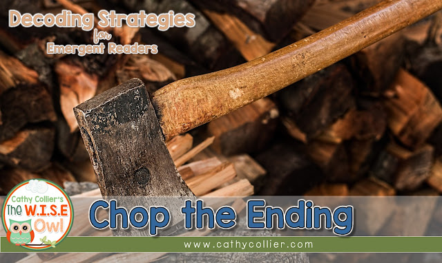 Chop the Ending is a great strategy for continuing students on the path to independent decoding.  Knowing endings can also help them understand their readings, too.
