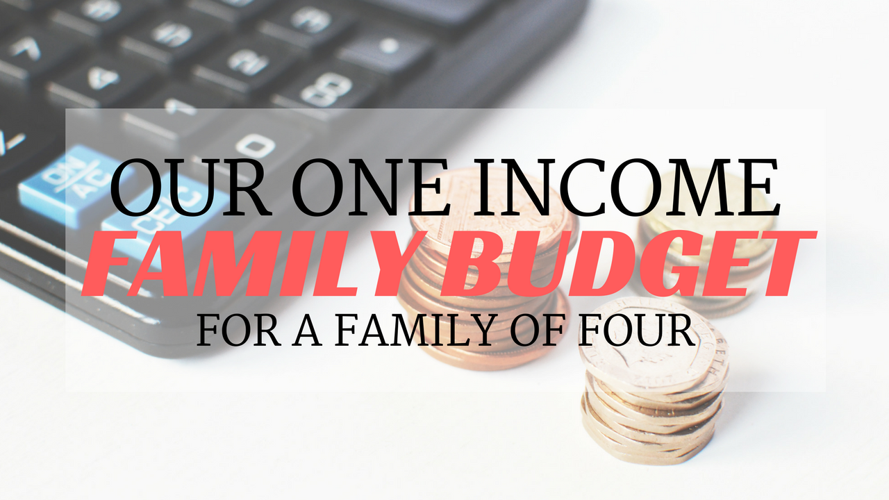 our one income family budget january 2018 rolling with marbles