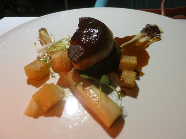 Beef Tenderloin with Foie Gras, Marsala and White Asparagus