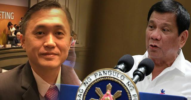 Duterte: Ang paborito kong senador Bong Go.