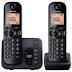 Teléfono inalámbrico Panasonic doble Kxtgc352
