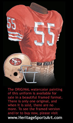 San Francisco 49ers 1972 uniform