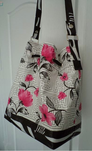 Sew 4 Home Bucket Bag crafted by eSheep Designs