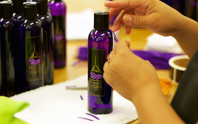 organic lavender products handcrafted in the USA