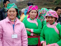 Races Sapa - Giay ethnique
