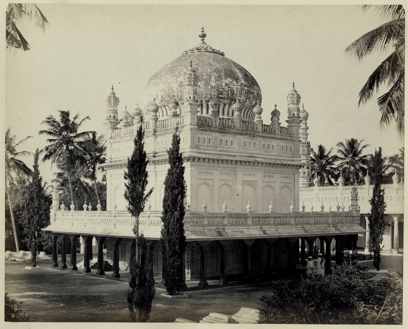 The Mausoleum Of Tipu Sultan - Srirangapatna Karnataka 1870's