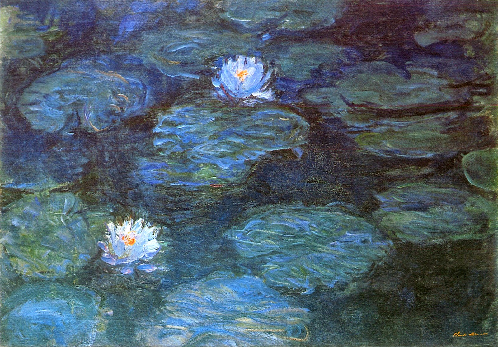 Cassie Stephens Water Lilies Dress