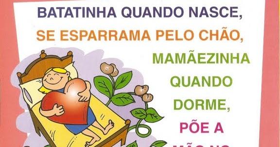 Blog Professor Zezinho Parlendas Ilustradas Belos Desenhos