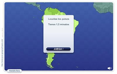 """""""Geo Quizz América del Sur"""""""