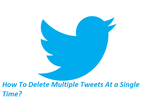 How To Delete Multiple Tweets At a Single Time?