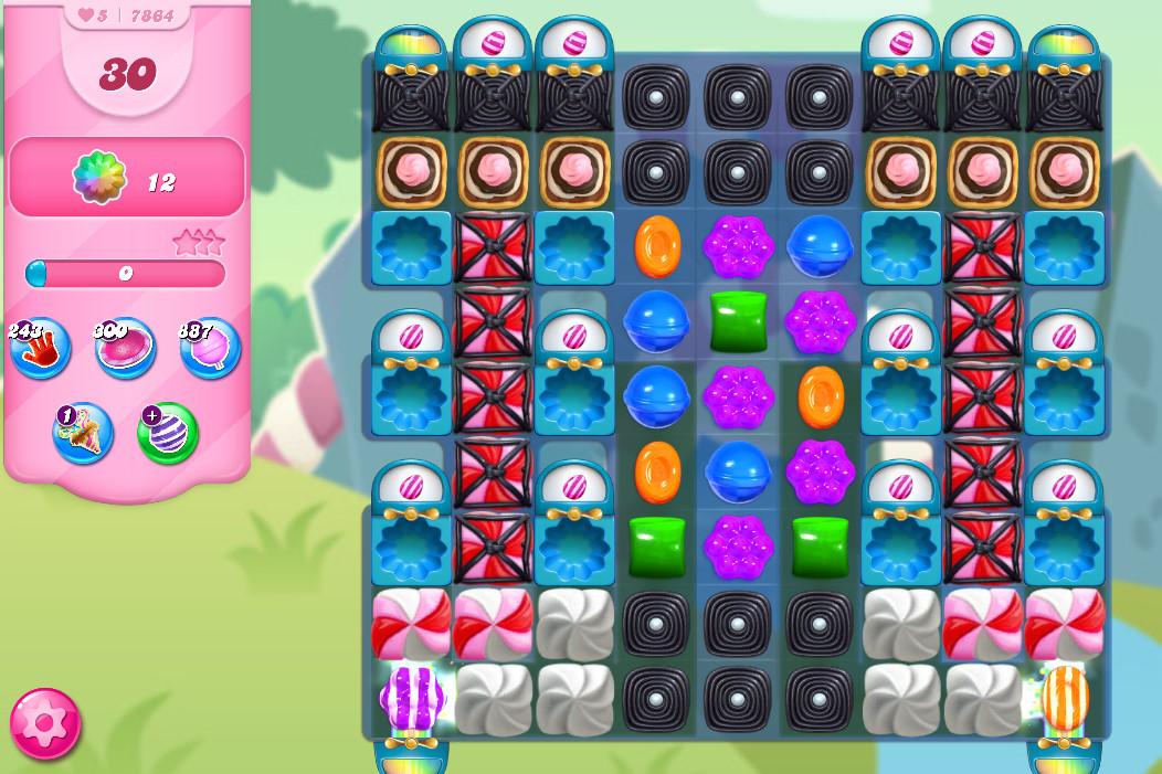 Candy Crush Saga level 7864
