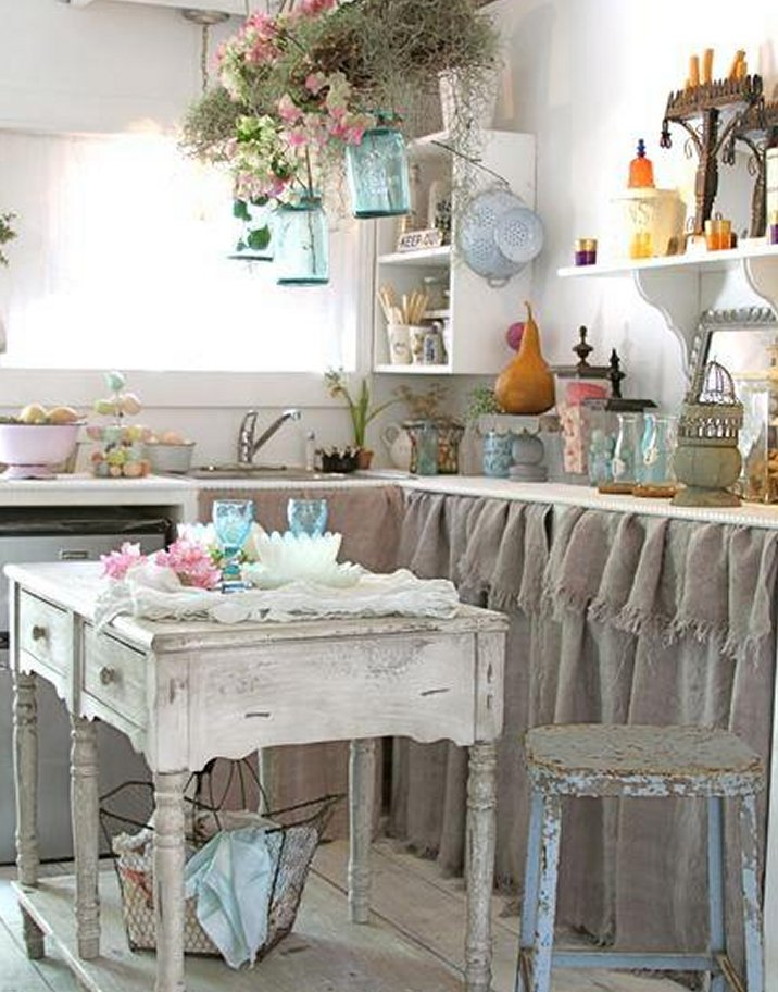 When Shabby Loves Chic Deco Un Interieur Boheme: Shabby In Love: Cucine Da Sogno