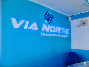 via norte - LETRERO EN ALTO RELIEVE CON LEDS