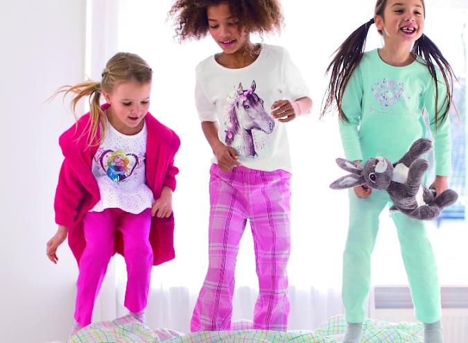 pijamas para niños y niñas c&a