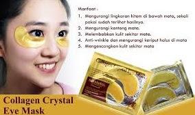 Khasiat dan Manfaat Masker Mata Crystal Collagen Gold Eye Mask